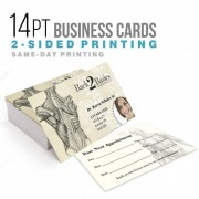 26pt Metallic Cards