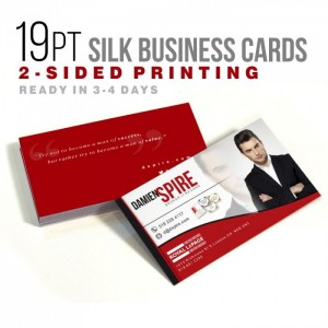 Standard UV High Gloss Business Cards