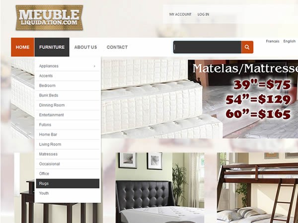 E Commerce Website (15 Products)