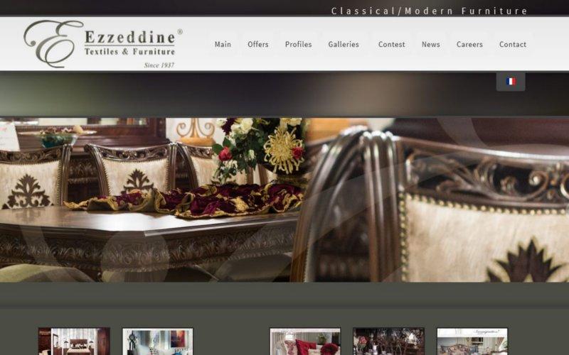 Ezzedine Furniture in WordPress 3.0