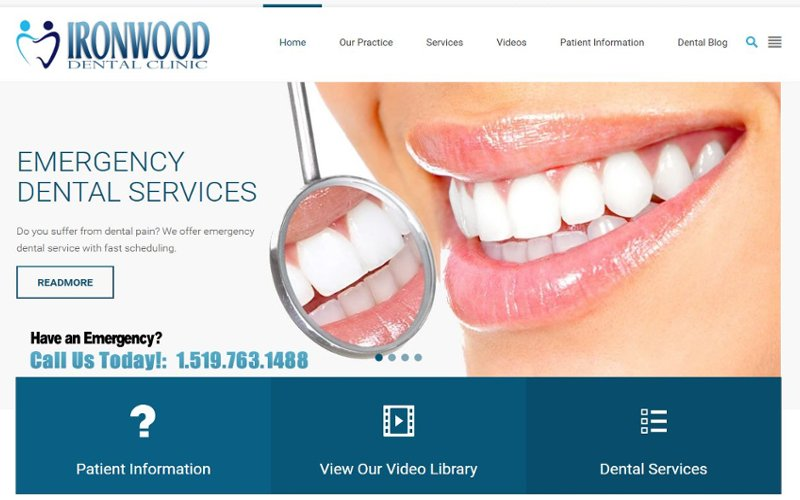 Dental Clinic in WordPress 3.0