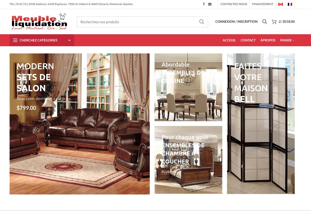 Meuble Liquidation Furniture Store