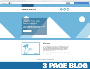 Personal Blog or Website