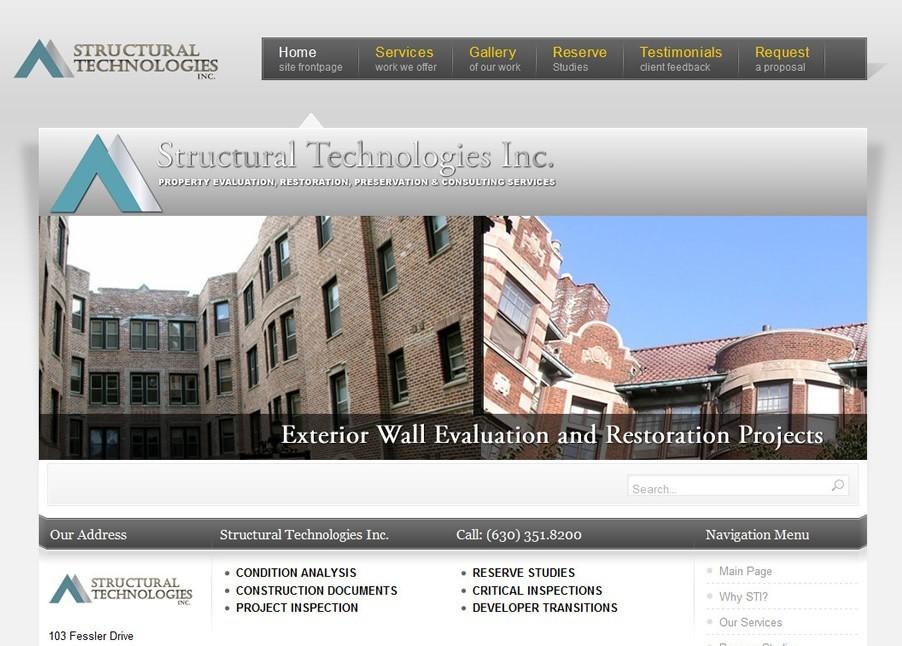 Balcony Agency Webdesign in Joomla 1.5 (Circa: 2009)
