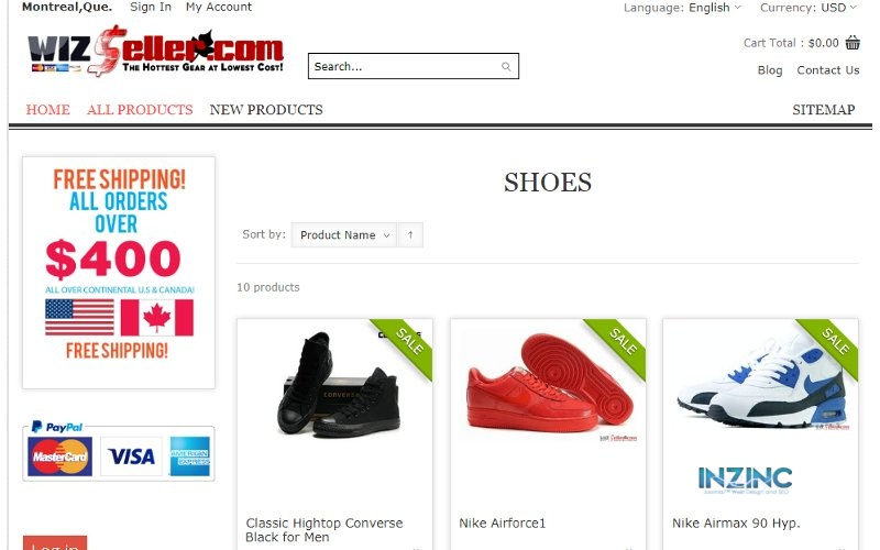 Wizseller Discount Store